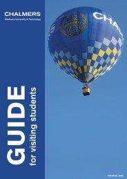 Student guide [pdf] - NCTU Europe