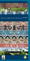 Sint-Lambrechts-Woluwe à la carte - Monumenten & Landschappen