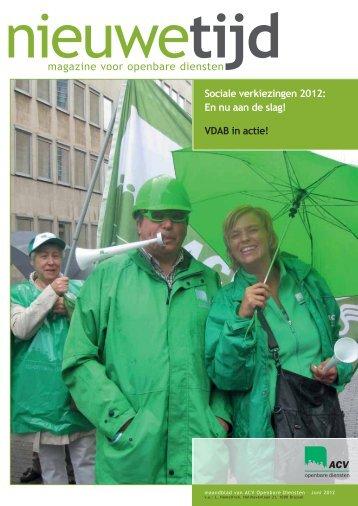 magazine voor openbare diensten - ACV Openbare Diensten