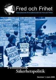 Fred och Frihet nummer 1, 2008 - IKFF