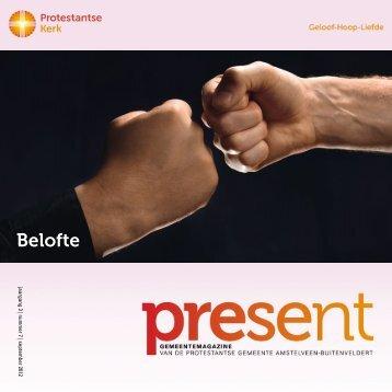 Belofte - Protestantse Gemeente Amstelveen-Buitenveldert
