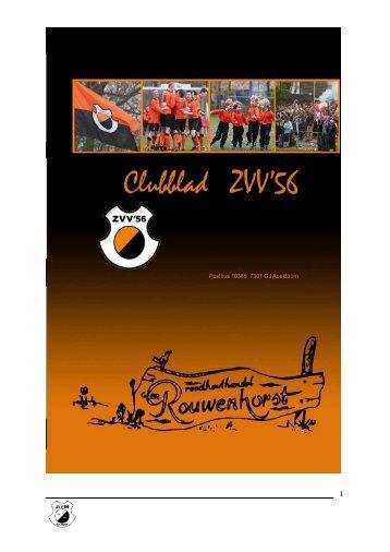 Clubblad ZVV'56 39e jaargang nummer 5