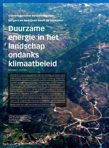 Duurzame energie in het landschap ondanks ... - Haver Droeze