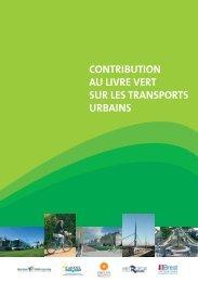 contribution au livre vert sur les transports urbains - Angers Loire ...