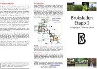 Bruksleden Etapp 2 - Traneving