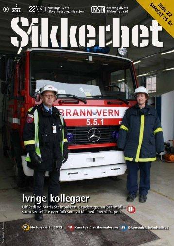 SIKKERHET nr. 2 • 2011 - Næringslivets sikkerhetsorganisasjon