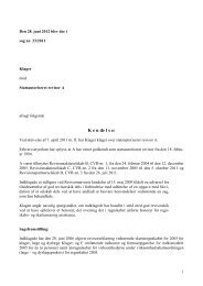 28. juni 2012 - Revisornævnet