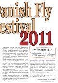 Fly Festival 2011 - Federation of Fly Fishers Denmark - Page 7