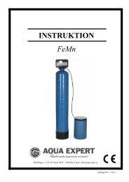 INSTRUKTION FeMn - Aqua Expert AB