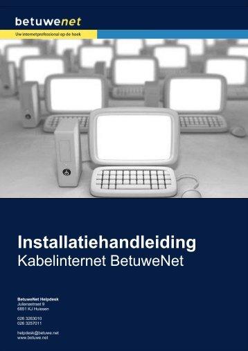Installatiehandleiding