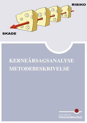 Metodebeskrivelse inkl. bilag - Dansk Selskab for Patientsikkerhed