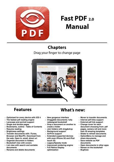 Fast PDF Manual