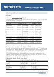 Nutsflits juni 2012 .pdf - Nutsschool Laan van Poot