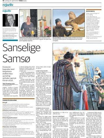 rejseliv - Samsø Ferie Online