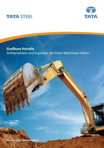 Greifbare Vorteile Stahlprodukte und Expertise, die Ihnen Wachstum ...