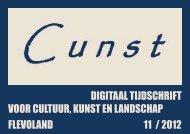 digitaal tijdschrift voor cultuur, kunst en landschap flevoland 11 / 2012