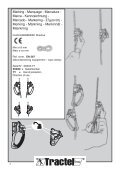 Rope Clamps - EN 567 - Tractel - Page 2