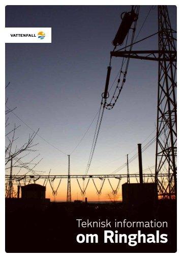 Teknisk information om Ringhals - Vattenfall