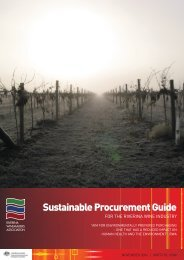Sustainable Procurement Guide - Riverina Winemakers Association