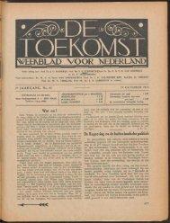 [VEEftBLAD VOOR NEDERLANDI - Koninklijke Bibliotheek