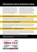 uudisrakentaminen • peruskorjaukset ja saneeraukset ... - Page 4