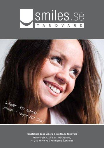 Lägger ditt leende hinder i vägen för Dig? - smiles.se