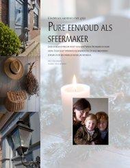 Herenhuis - Pure eenvoud als sfeermaker - De Stamkamer