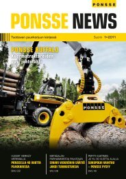 PONSSE News 1/2011 FIN