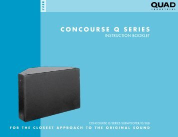 CONCOURSE Q SERIES - Quad Industrial