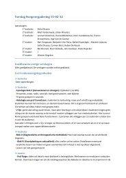 Verslag Swopvergadering 15-02-12