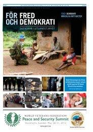 För fred och demokrati - svenskar i utlandstjanst - Polisen