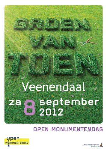 opent u de pdf van het boekje - Open Monumentendag Veenendaal
