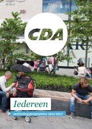 Iedereen - CDA