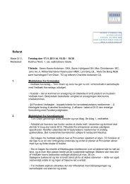 Referat Bestyrelsesmøde november 2011 - Vedbæk havn