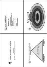Produkt og merkevarestrategi (kap 14)