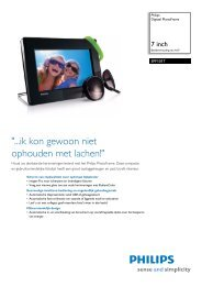 SPF1017/10 Philips Digitaal PhotoFrame - Opus