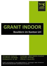 Sponsoren-Dossier - Granit Indoor