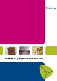 Huwelijk en geregistreerd partnerschap - Gemeente Bussum