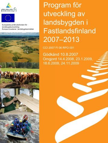 Program för utveckling av landsbygden i ... - Maaseutu.fi