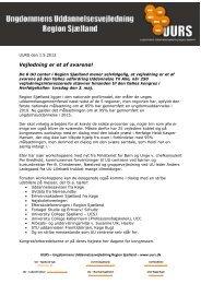 Læs hele pressemeddelsen her - UUV Køge Bugt