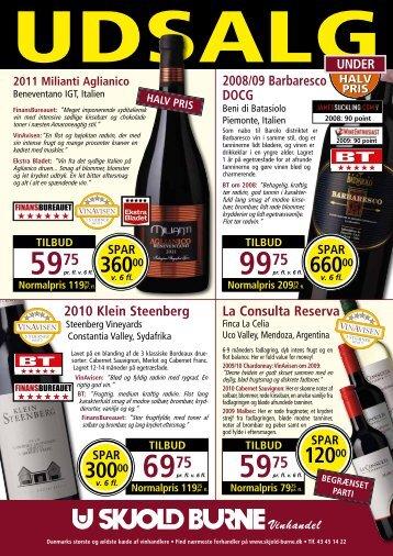 Tilbuds Avis - Bjerre vin