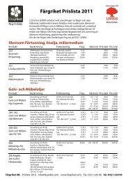 Prislista pdf till utskrift - Färgriket