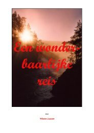 1 - Een wonderbaarlijke reis, een verslag van een spirituele