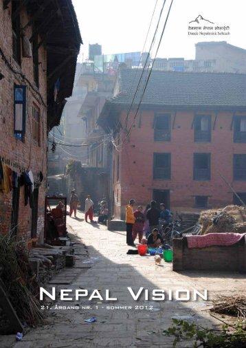 Nepal Vision 2012, nr. 1 - Dansk-Nepalesisk Selskab