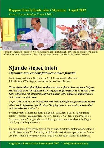 Svensk PDF (564 KB) - Burma.nu