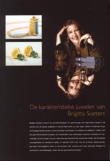 De karakteristieke juwelen van ' Brigitta Sueters