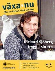 Växa.nu nr 7 som PDF - Svenska Missionskyrkan
