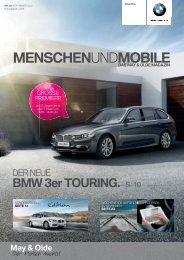 Aktuelle Ausgabe des May & Olde Magazins. (PDF