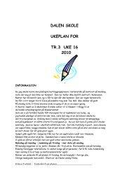 DALEN SKOLE - Wiki - Fetskolene