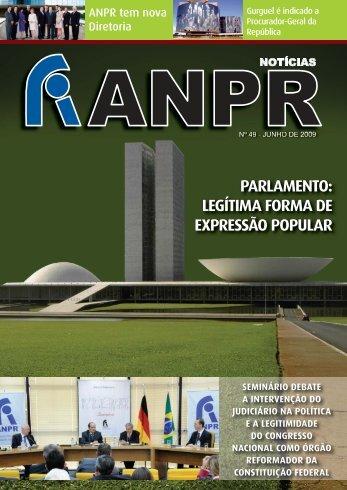 parlamento: legítima forma de expressão popular - ANPR